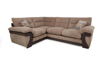 Right Arm Facing 2 Piece Corner Sofa Mawson Rib