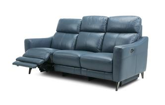 3 Seater Power Sofa and Table