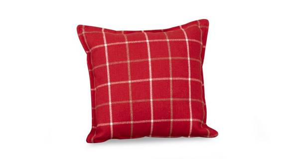 Maxwell Plain Check Scatter Cushion