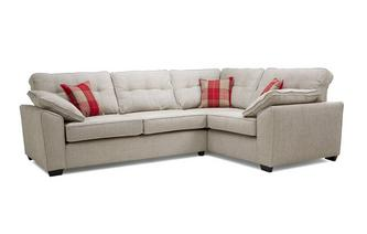 Left Hand Facing 3 Seater Corner Sofa Keeper
