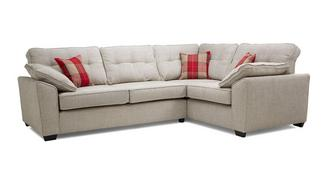 Maxwell Left Hand Facing 3 Seater Deluxe Corner Sofa Bed