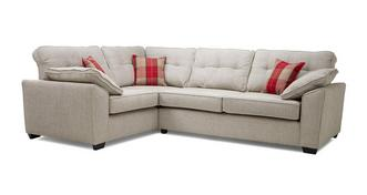 Maxwell Right Hand Facing 3 Seater Deluxe Corner Sofa Bed
