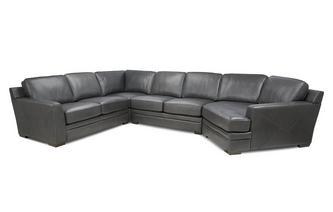 Right Hand Facing Angled Corner Sofa