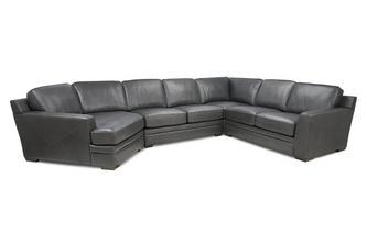 Left Hand Facing Angled Corner Sofa