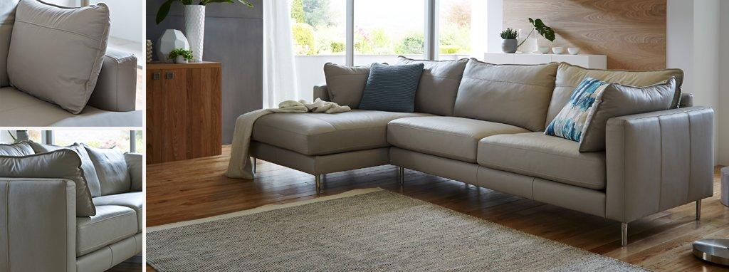 mazzini left hand sofa