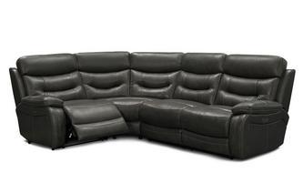 Right Hand Facing 2 Corner 1 Power Double Recliner