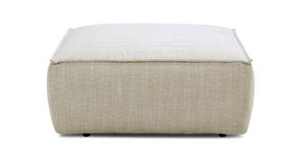 Melody Weave Square Footstool