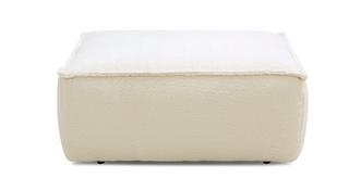 Melody Poodle Square Footstool