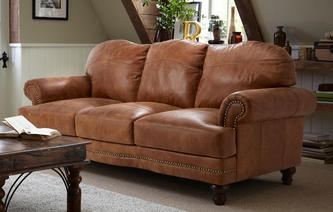 Mendez 3 Seater Sofa Outback