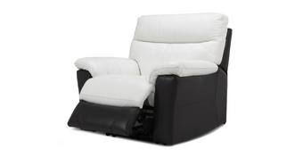 Mercier Leather and Leather Look Manual Recliner Chair
