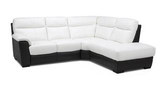Mercier Option A Left Hand Facing Arm 2 Piece Corner Sofa