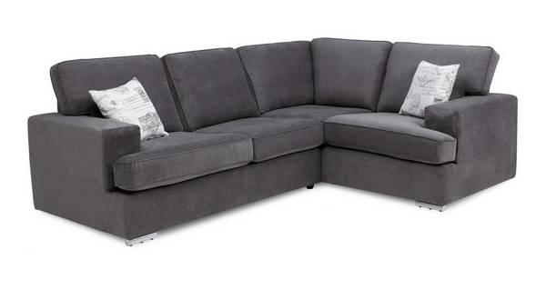 Merit Left Hand Facing 2 Seater Corner Sofa Bed