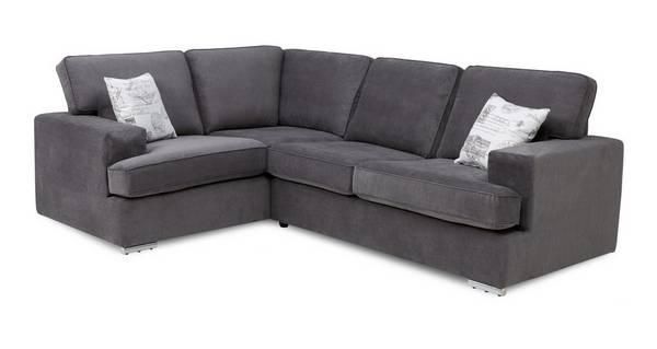 Merit Right Hand Facing 2 Seater Corner Sofa Bed