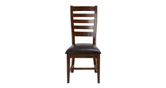 Merlot Ladderback Dining Chair
