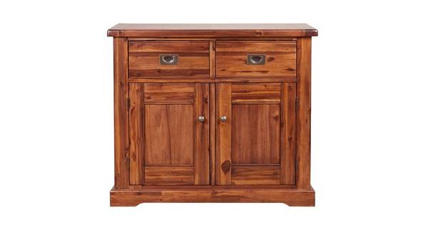 Merlot Small 2 Drawer 2 Door Sideboard