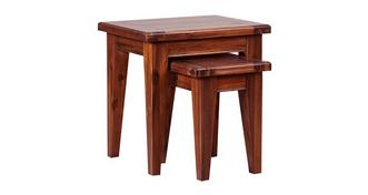 Merlot Nest of 2 Tables
