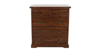 Merlot Bedroom 5 Drawer Chest