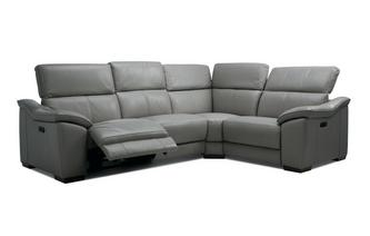 Option G Left Hand Facing 2 Corner 1 Power Double Recliner