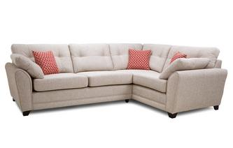 Left Hand Facing 3 Seater Deluxe Corner Sofabed