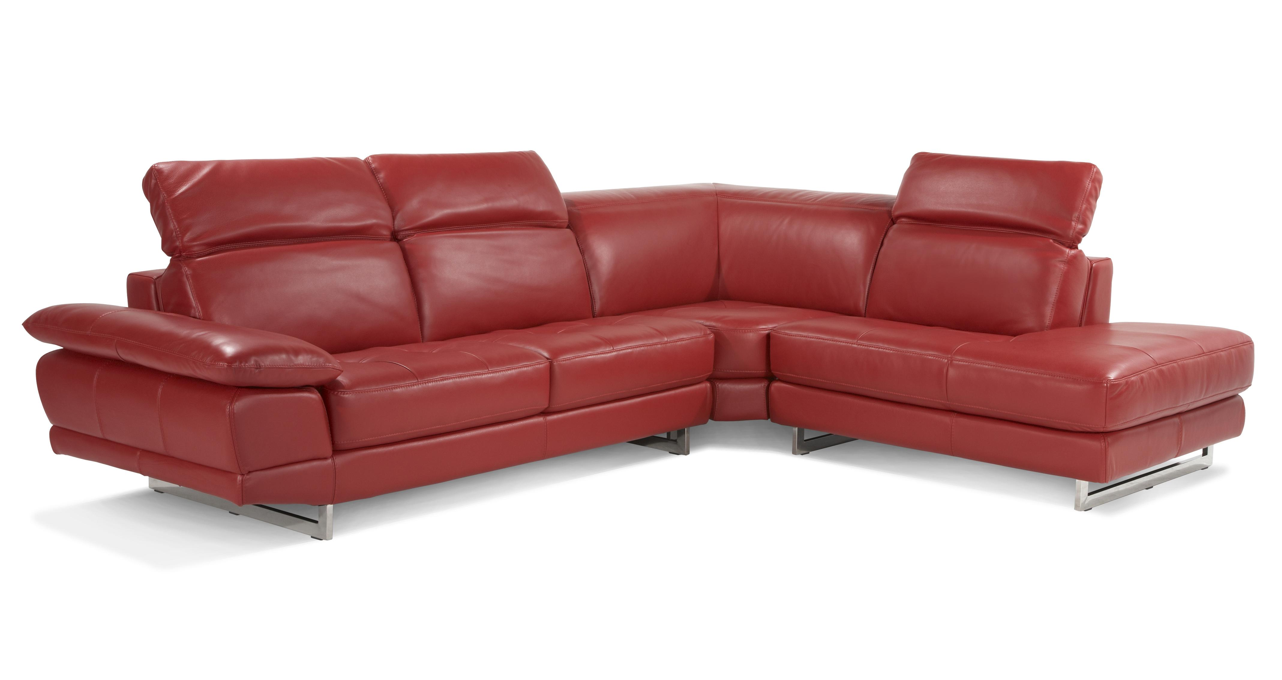 Milan Left Arm Facing Corner Sofa Vogue Leather | DFS
