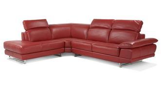 Milan Right Arm Facing Corner Sofa
