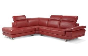Right Arm Facing Corner Sofa Vogue Leather