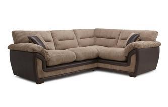 Left Hand Facing Arm 2 Piece Corner Sofa Samson