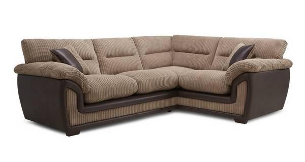 Miller Left Hand Facing Arm 2 Piece Corner Sofa