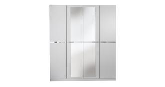Milo Medium 4 Door Hinge Robe