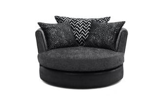 Large Swivel Chair Carrara