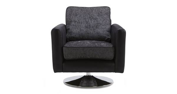 Mistra Plain Swivel Chair