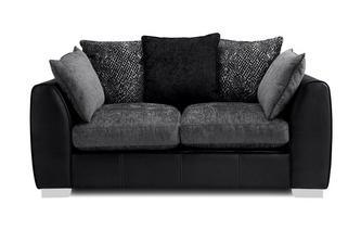 Pillow Back 2 Seater Sofa Carrara