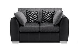 Formal Back Small 2 Seater Sofa Carrara