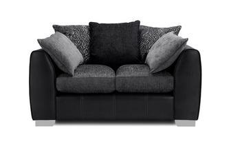 Pillow Back Small 2 Seater Sofa Carrara
