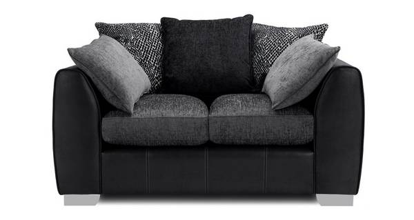 Mistra Pillow Back Small 2 Seater Sofa
