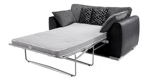 Mistra Formal Back 2 Seater Deluxe Sofa Bed