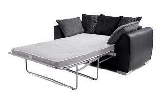 Pillow Back 2 Seater Deluxe Sofa Bed Carrara