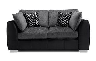 Formal Back 2 Seater Supreme Sofa Bed Carrara