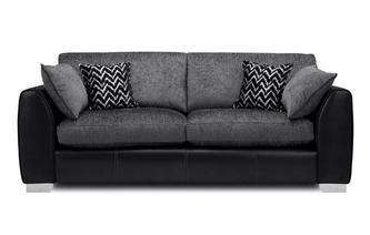 Formal Back 4 Seater Sofa Carrara
