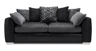 Mistra Pillow Back 4 Seater Sofa