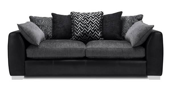 Mistra Pillow Back 4 Seater Sofa