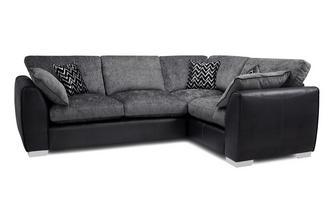 Formal Back Left Hand Facing 3 Seater Corner Sofa Carrara