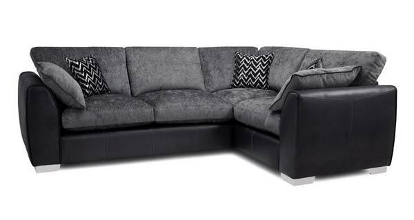 Mistra Formal Back Left Hand Facing 3 Seater Corner Sofa