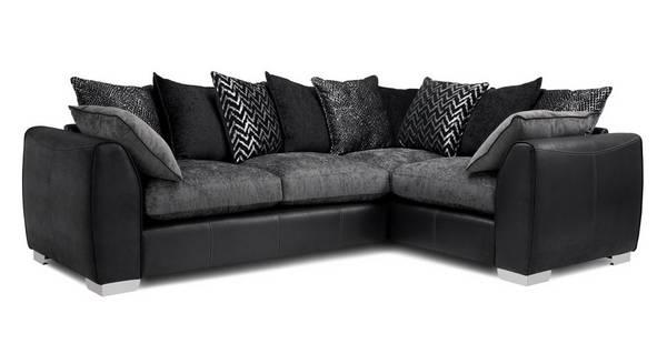 Mistra Pillow Back Left Hand Facing 3 Seater Corner Sofa