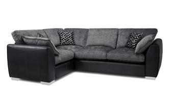 Formal Back Right Hand Facing 3 Seater Corner Sofa Carrara