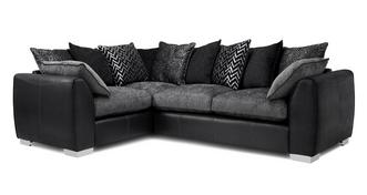 Mistra Pillow Back Right Hand Facing 3 Seater Corner Sofa