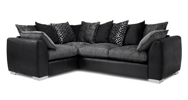 Mistra Pillow Back Right Hand Facing 3 Seater Corner Sofa
