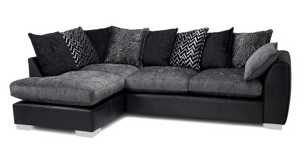 Mistra Pillow Back Right Hand Facing Open End Corner Sofa