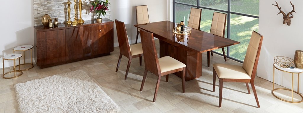 Mitro Extending Dining Table Set Of 4 Chairs