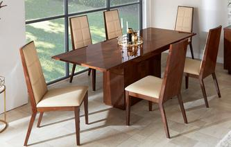 Mitro Extending Dining Table & Set of 4 Chairs Mitro